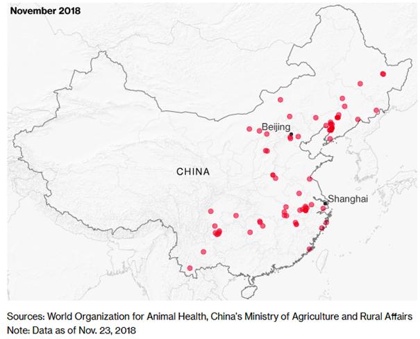 ISN - schweine.net - ASP Update: China hat Probleme, Russland ... China Usa Map on