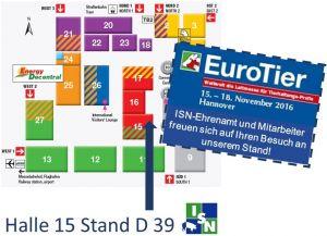 EuroTier 2016 Termin und Stand ISN